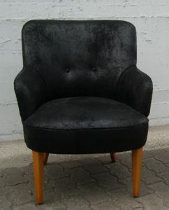 kleiner Sessel neues Design Heutz Raumausstattung