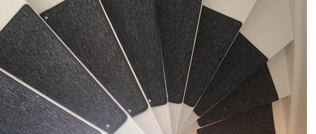 Teppich für Treppenstufen
